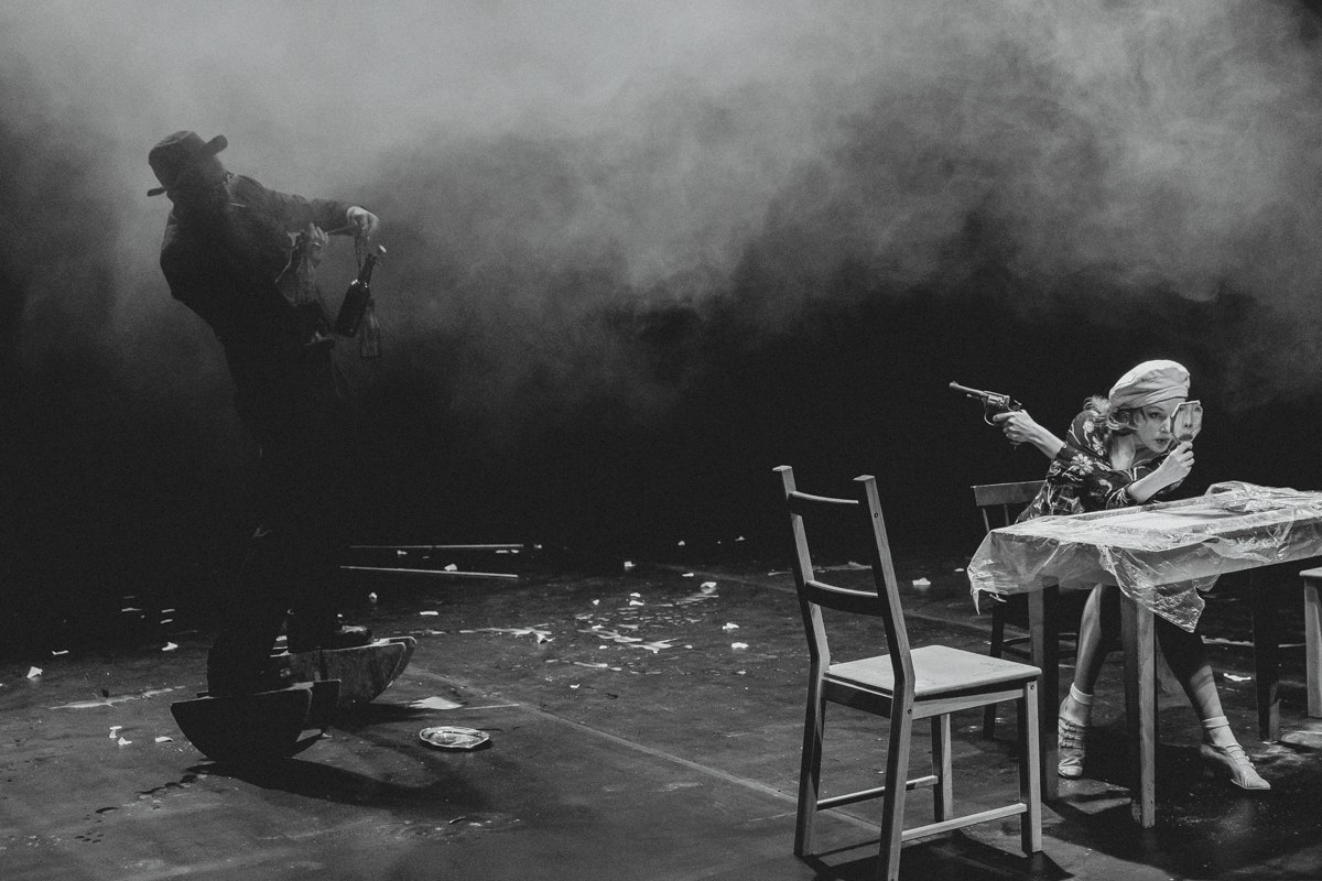 """спектакль """"Пух и Прах"""" - Инженерный театр АХЕ"""